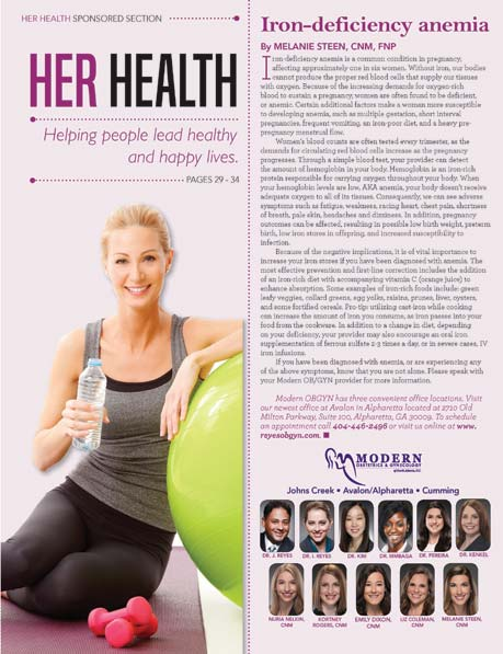 February 2020 | Her Health | by  Melanie Steen, CNM, FNP