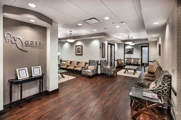 The lobby of our Johns Creek office