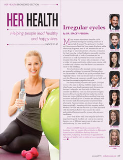 Modern OBGYN Featured in Northside Woman Magazine January 2019