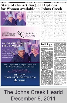 State of the Art Surgical Options for Women available in Johns Creek